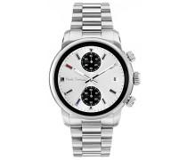 Chronograph Quarz Uhr mit Edelstahl Armband P10034