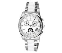 Armbanduhr Analog Quarz Premium Keramik Diamanten - STM15L1