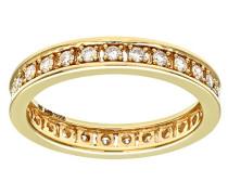 Damen-Ring 18 K Gelbgold P1 Diamant