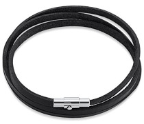 Armband Leather Collection Leder schwarz 60 cm 60160109