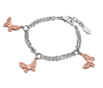 Style Jewelry Armband Edelstahl 21.5 cm LS1529-2/3