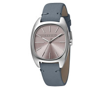 Analog Quarz Uhr mit Leder Armband ES1L038L0045