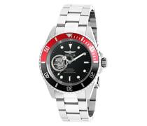 20435 Pro Diver Uhr Edelstahl Automatik schwarzen Zifferblat