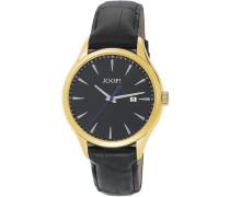 Armbanduhr XL Composure Swiss Made Analog Quarz Leder JP100701S04