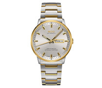 Analog Automatik Uhr mit Edelstahl Armband M0214312207100