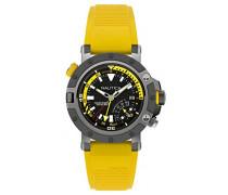 Analog Quarz Uhr mit Silikon Armband NAPPRH003