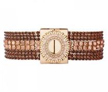 Damen-Manschetten Armbänder Vergoldet E18LFLAKPI