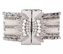 Damen-Manschetten Armbänder Versilbert E18LETERSI