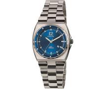 Analog Quarz Uhr mit Edelstahl Armband TW1545