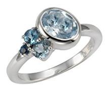 Ringe 925_Sterling_Silber mit Topas '- Ringgröße 60 (19.1) 360272110-060