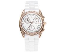 Armbanduhr Analog Quarz Premium Keramik Diamanten - STM15F4