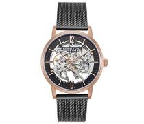 Analog Automatik Uhr mit Edelstahl Armband KC50054008
