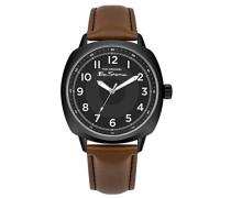 Datum klassisch Quarz Uhr mit PU Armband BS003BT