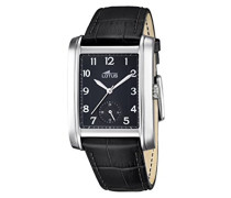 Herren -Armbanduhr Analog Quarz Leder 18352/3