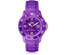 - ICE forever Purple - Lila Damenuhr mit Silikonarmband - 000151 (Large)