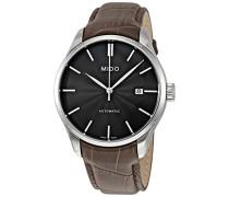 Analog Automatik Uhr mit Leder Armband M0244071606100