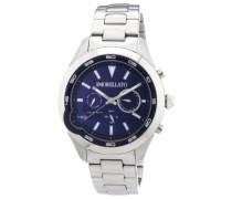 Armbanduhr XL ROMEO Analog Quarz Edelstahl R0153110002