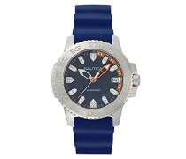 Datum klassisch Quarz Uhr mit Silikon Armband NAPKYW001