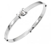 Damen-Armband D11099Z Edelstahl Zirkonia
