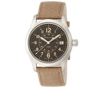 Analog Quarz Uhr mit Stoff Armband H68201993