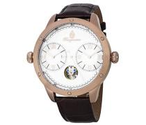 Datum klassisch Automatik Uhr mit Leder Armband BM233-385