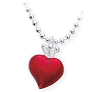 Herzanhänger Crown of my Heart mit Brandlack LD LP 33 RM