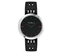 Analog Quarz Uhr mit Leder Armband R4251103516
