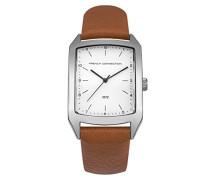 Datum klassisch Quarz Uhr mit PU Armband SFC120T