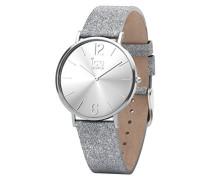 Ice Watch Analog Quarz Smart Armbanduhr mit Leder Armband 015080