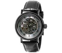 Erwachsene Analog Automatik Smart Watch Armbanduhr mit Leder Armband ES-8806-04
