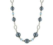 Armband Kautschuk Glas Blau 45.72 cm - 48386