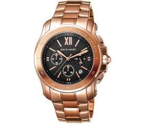 Armbanduhr Prince Chronograph Quarz Edelstahl Swiss Made