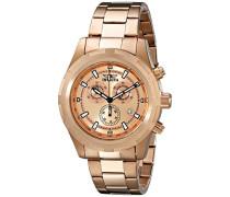 Armbanduhr Specialty Chronograph Quarz Edelstahl Beschichtet 17731