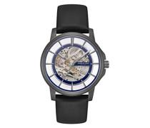 Analog Automatik Uhr mit Leder Armband KC50227002