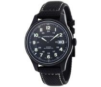 Analog Automatik Uhr mit Leder Armband H70575733