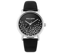 Datum klassisch Quarz Uhr mit Leder Armband DD053BS