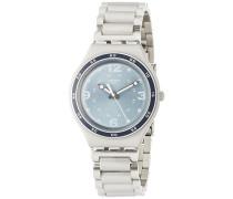 Analog Quarz Uhr mit Edelstahl Armband YGS134G