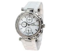 Armbanduhr Analog Quarz Premium Keramik Diamanten - STM15R1