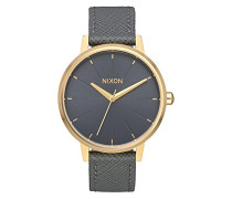 Analog Quarz Uhr mit Leder Armband A108-2815-00