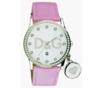 Damen-Armbanduhr Analog Quarz Leder DW0009