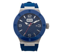 Analog-Digital Quarz Uhr mit Silikon Armband JC1G017P0025