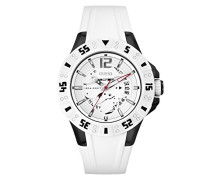 Armbanduhr XL Magnum Analog Quarz Silikon W0034G5