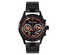 Armbanduhr XL Chronograph Quarz Edelstahl JGS3570B