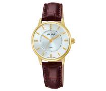 Damen-Armbanduhr Analog Quarz Leder PH8182X1