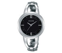 Analog Quarz Uhr mit Edelstahl beschichtet Armband PH8205X1