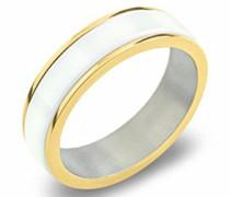 Unisex-Ring Titan Keramik