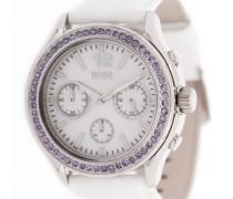 Damen-Armbanduhr Chronograph Quarz Leder 1502262