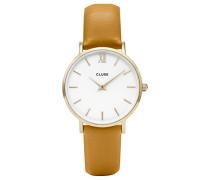 Erwachsene Digital Quarz Uhr mit Leder Armband CL30034