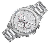 Armbanduhr Chronograph Quarz Edelstahl ES107031001