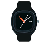 Armbanduhr Analog Quarz Plastik schwarz AL10010